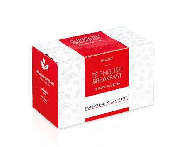 English Breakfast Tea. Cuando las hojas de té completan su oxidación natural, el resultado es el té negro