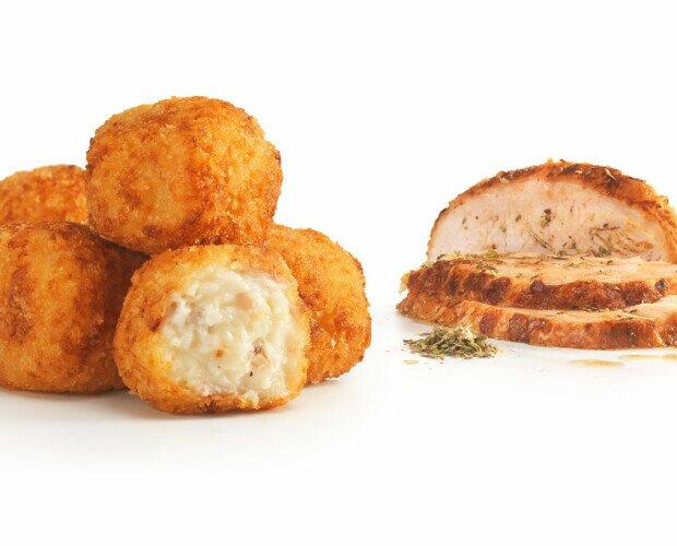 Croquetas de pollo asado. Nuestras croquetas más caseras.