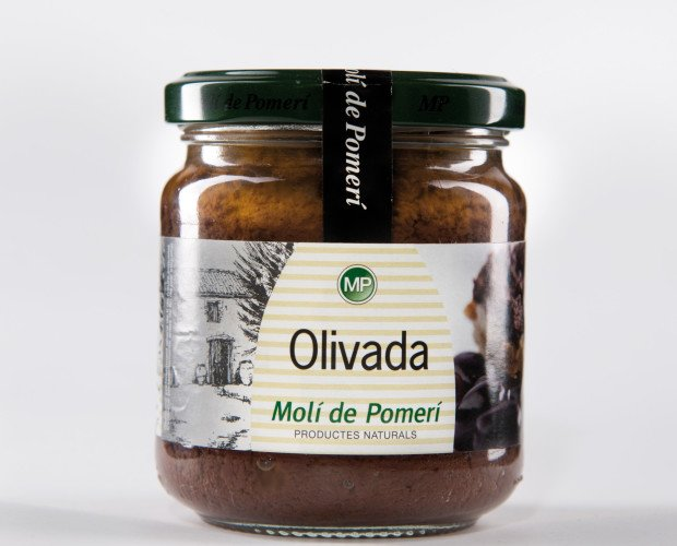 Olivada. Base de salsa olivada negra