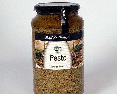 Pesto. Intensa pero deliciosa