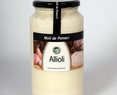 Alioli. Una salsa que no puede faltar