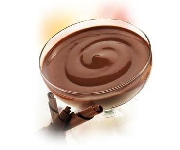 Natillas Chocolate. Mix para elaborar natillas. En dos minutos con leche del tiempo.