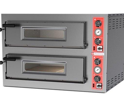 Cocina gas horno. Horno pizza eléctrico 2 cámaras. 4 pizzas x 33cm.