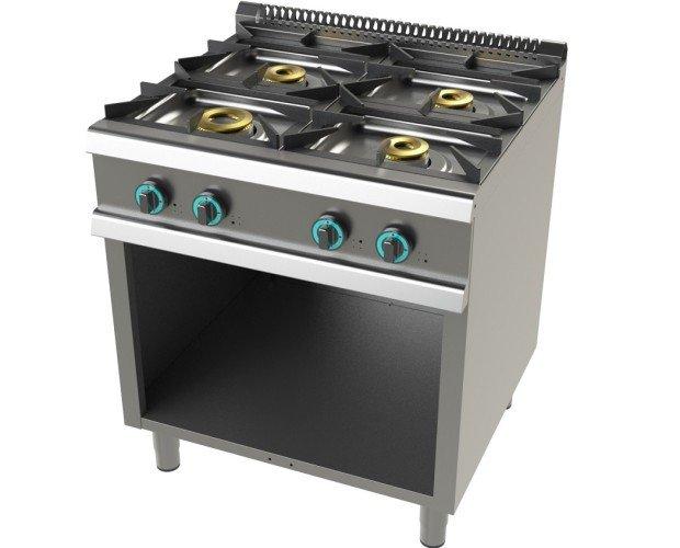 Cocina gas mueble. Cocina gas mueble 4 fuegos. Serie 900.