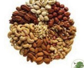 Fruits Secs Mironous. Variedad de frutos secos