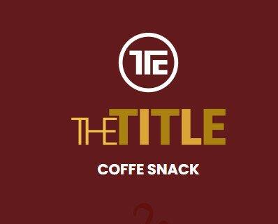 https://thetitle.es/coffe-snacks/. TU PROPIA CAFETERÍA En THE TITLE COFFE SNACK te ofrecemos la posibilidad