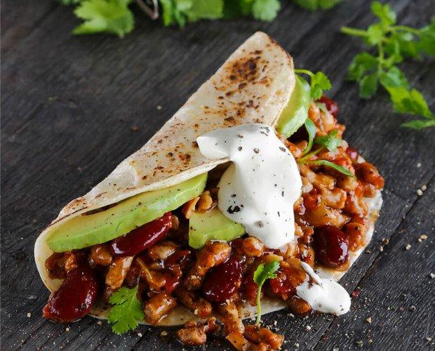 Carnita Picada. Nada es mejor que un burrito mexicano
