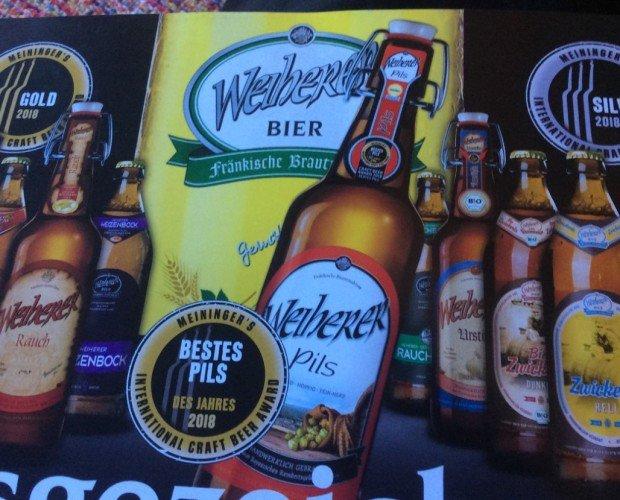 Cerveza de Importación.Cerveza artesana en Alemania con medallas de oro y plata con precios competitivos
