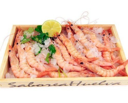 Gamba Blanca Huelva. Gamba blanca de huelva, la reina del sabor y cualquier receta, cruda o cocida.
