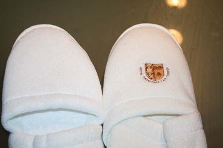 Zapatillas Rizo. Zapatillas de rizo