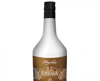 Botella de Crema. Crema de orujo