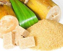 Azúcar. Azúcar Moreno de Caña. Cuerpo sano