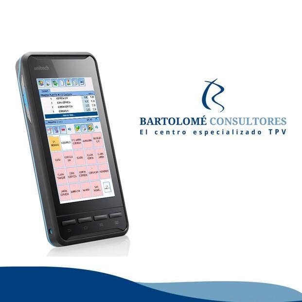 TPV y comanderos. Unitech PA 700 Bartolomé Consultores