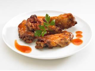 Alitas de pollo. Gran variedad de tapas