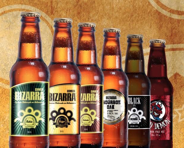 Bizarra. Cervezas Bizarra ofrece gran variedad de estilos.