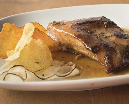 Costilla de Cerdo. Cocinada lentamente en el horno