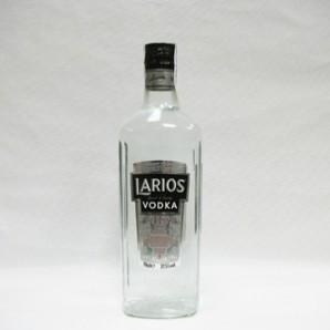 Licores. Vodka. Graduación alcohólica: 37,5º