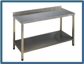 Mobiliario para hostelería. Mesas de trabajo para toda cocina