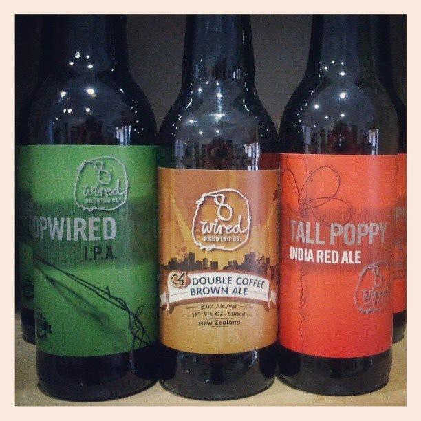 Bebidas Alcoholicas. Cervezas importadas desde Nueva Zelanda