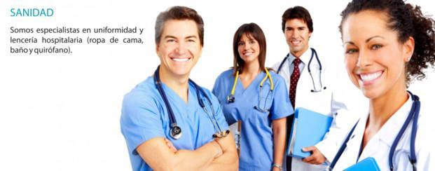 Ropa Laboral.Uniformes para el sector sanitario