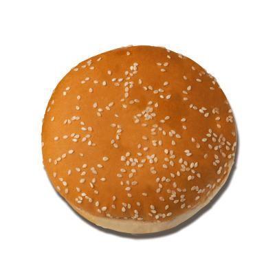 Pan de Hamburguesa. Pan de hamburguesa mini y normal con semillas