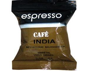 Cápsulas Cafetalia India. Fino y suave al paladar