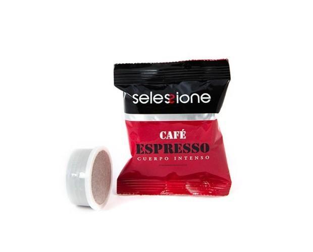 Café espresso en cápsulas. Cuerpo Intenso