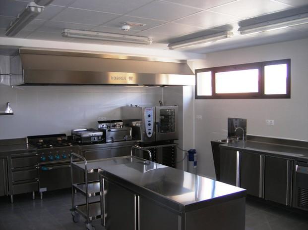 Cocina. Cocinas industriales