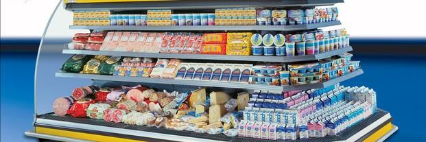 Equipamiento para supermercados. Vitrinas, expositores y más