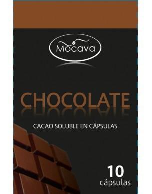 Chocolate a la Taza.Caja de 10 cápsulas