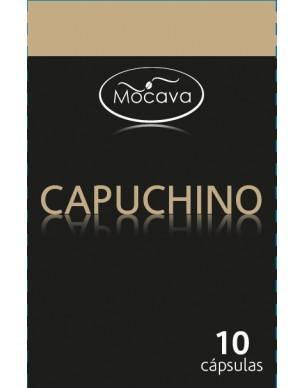 Capuchino en cápsulas. Caja de 10 capsulas