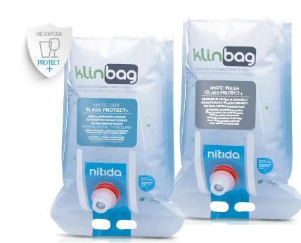 Klinbag. Klinbag es un sistema de potentes productos ultra concentrados especialmente creado para el lavado automático de vajilla y cristalería