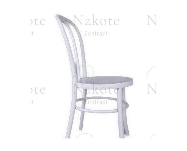 Silla Thonet de Polipropileno Blanca+Nakote. Disponible en color negro y blanco