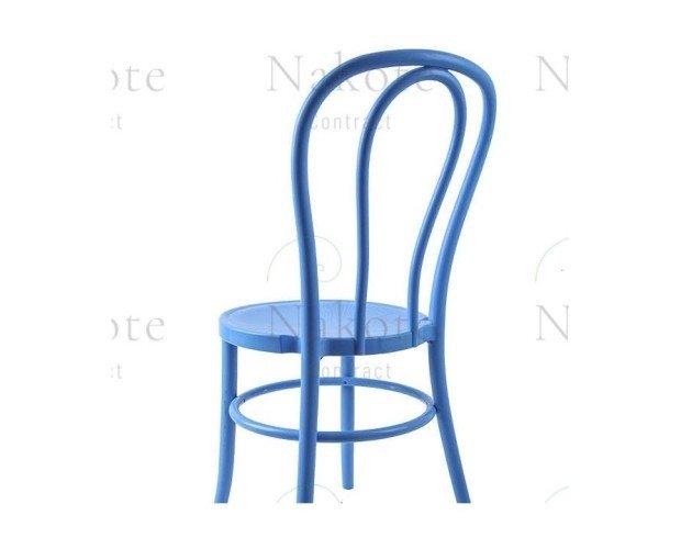 Silla Thonet de Polipropileno Azul. Resistentes y económicas