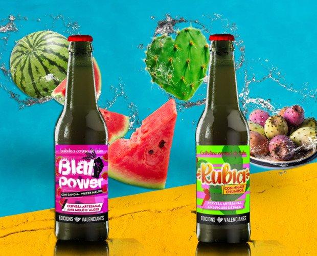 Edicions valencianes. Cervezas muy refrescantes