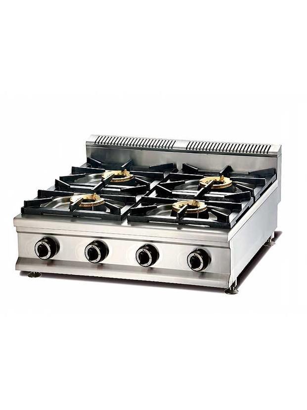 Cocinas a gas. Cocinas, modulable, 4 fuegos