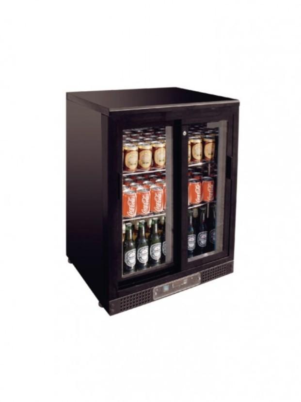 Expositor refrigerado. Capacidad 104 botellas