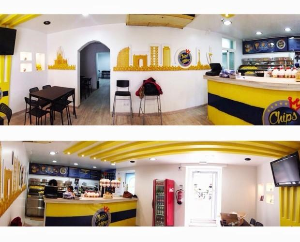 Rest. Comida ràpida. Diseño para restaurante de comida rápida.