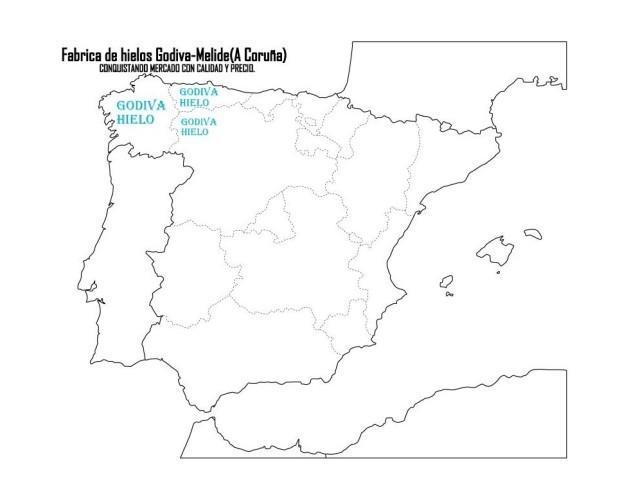 Mapa. Distribución