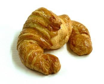 Bollería Congelada.Croissant artesano 90g.