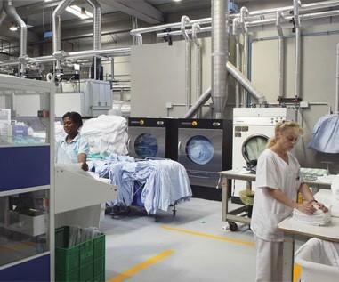 Lavandería Industrial.Servicios de lavandería