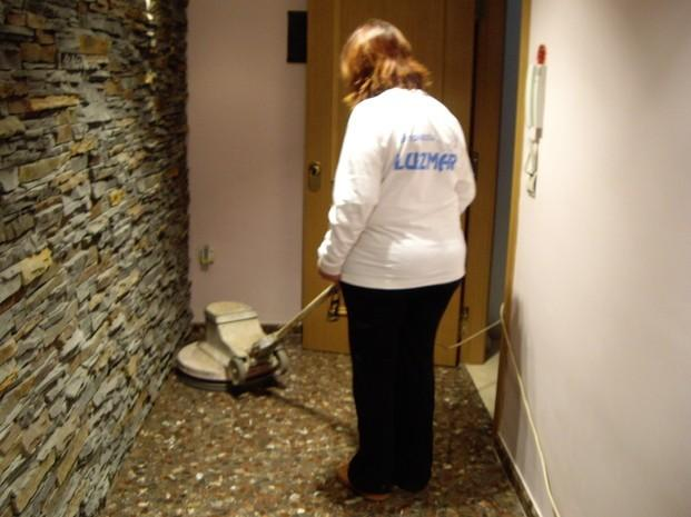 Limpieza para Hostelería. Abrillantado de suelos