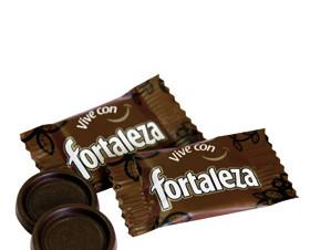 Galletas y Dulces. Chocolatina Fortaleza 56% Cacao