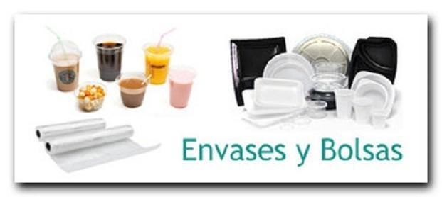 Envases Desechables.Vasos, platos, cubiertos, bandejas