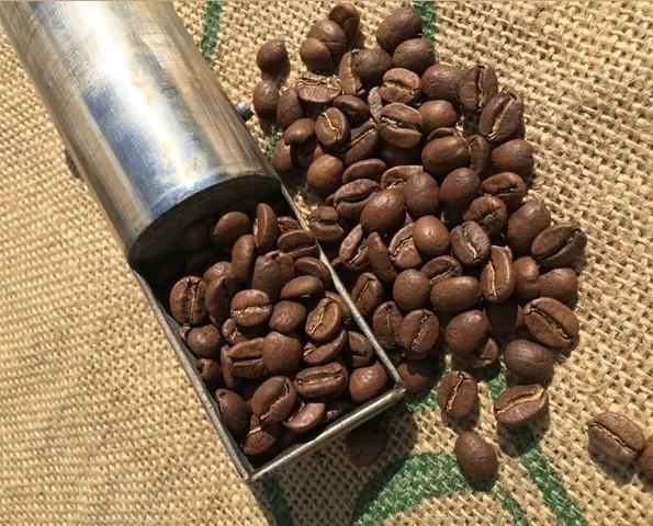 Café tostado. En su punto de tueste