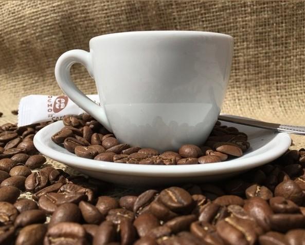 Taza llena de ideas. Taza de café
