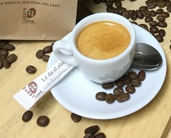 Ocho de Café. La esencia más pura del café