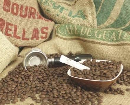 Tostadores de Café. Café en Grano