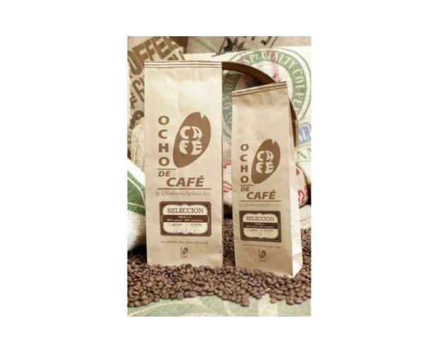 Café selección. Mezcla 80% natural, 20% torrefacto