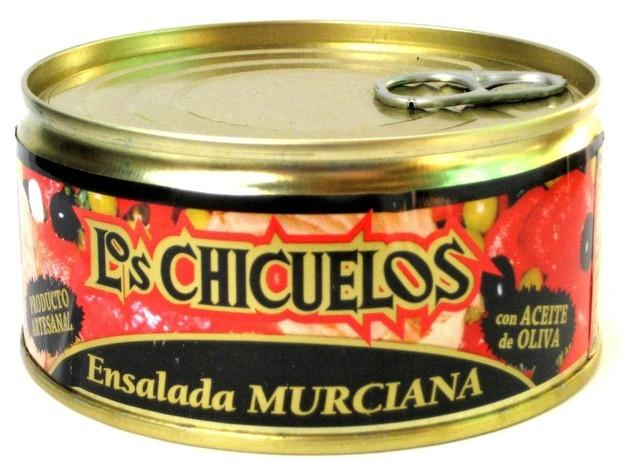 Ensalada Murciana con Atùn. Platos precocinados